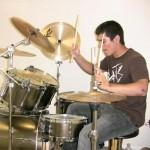 A drum lesson
