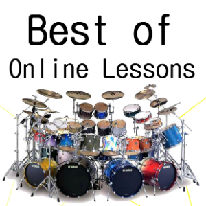 Best of…  Drum lessons online