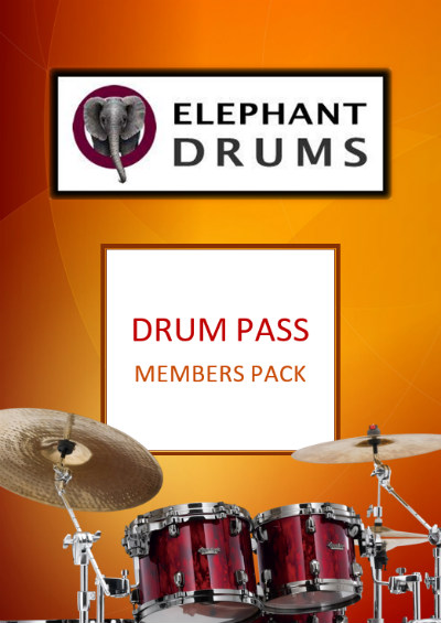 Drum Pass Members Pack front cover