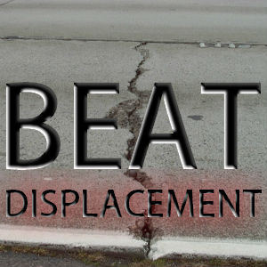 Using beat displacement to create drum beats
