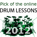 Pick of online drum lessons 2012