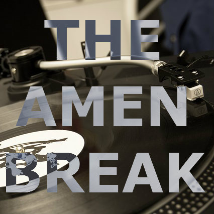 "The famous ""Amen Break"" drum groove"