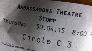 STOMP ticket