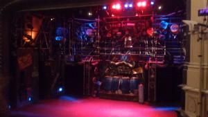 STOMP stage set