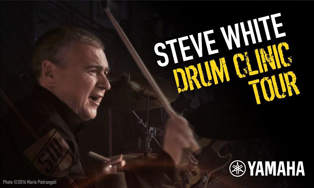 Steve White Yamaha Tour