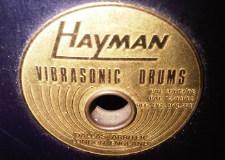 Drum Talk: Hayman vibrasonic drums