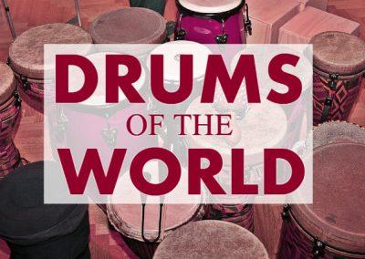 Drums of the World: Drumming Workshop