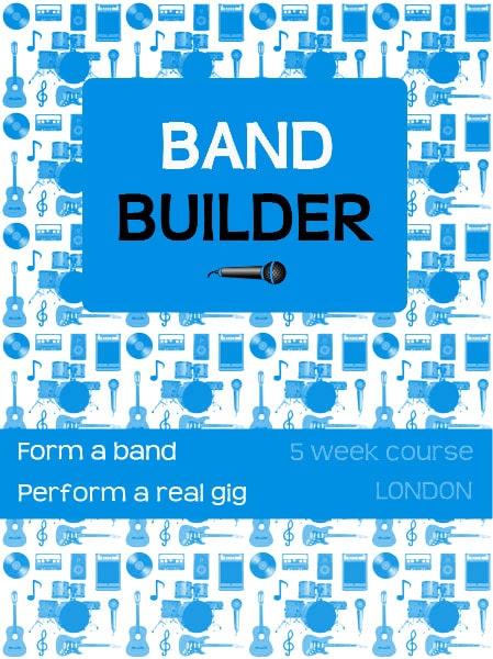 Band Builder Poster